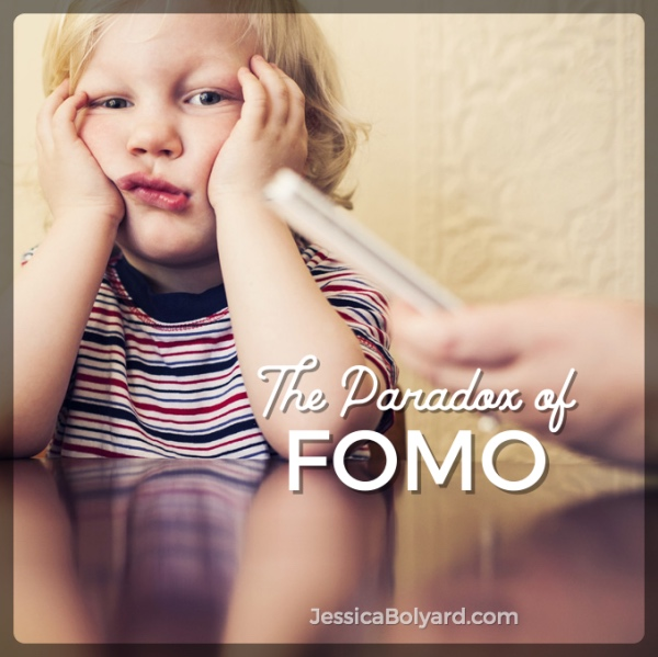 The Paradox of FOMO